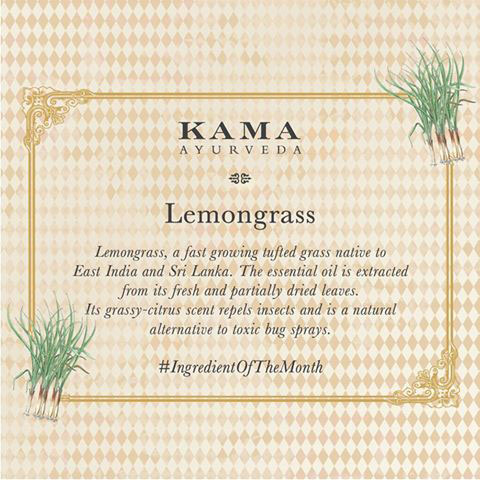 Ayurvedic treatment: lemongrass