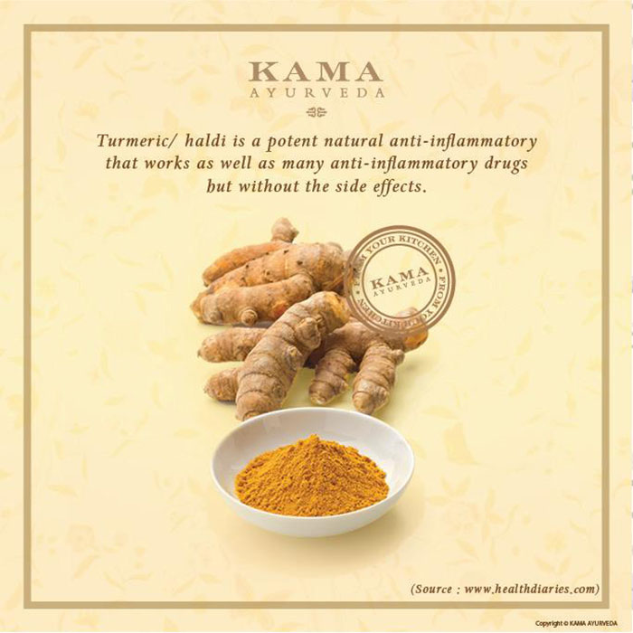 Ayurvedic treatment: turmeric