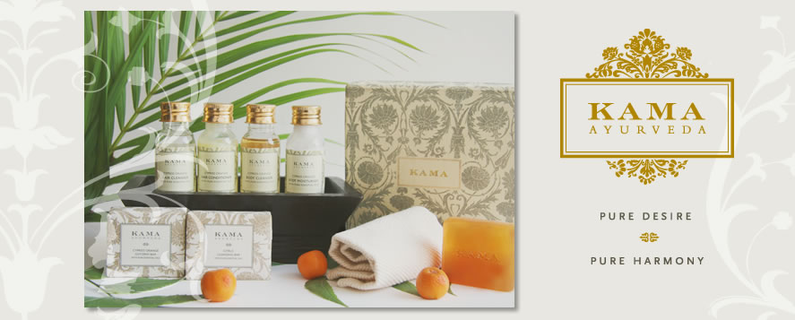 Kama Ayurveda amenities