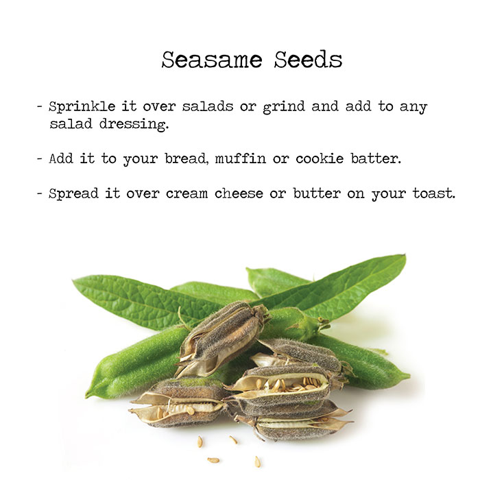 Ayurvedic treatment: sesame