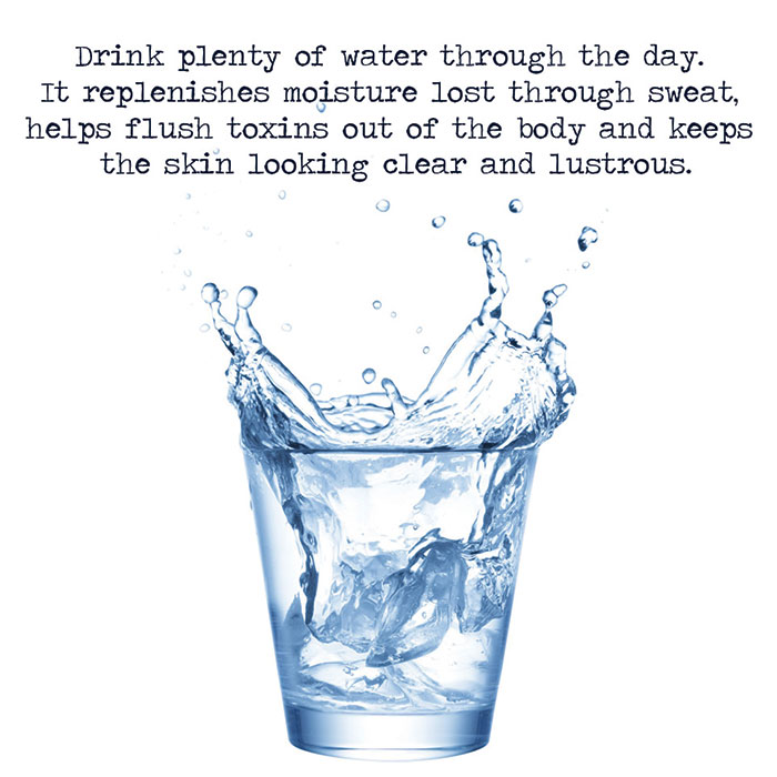 Ayurvedic treatment: water