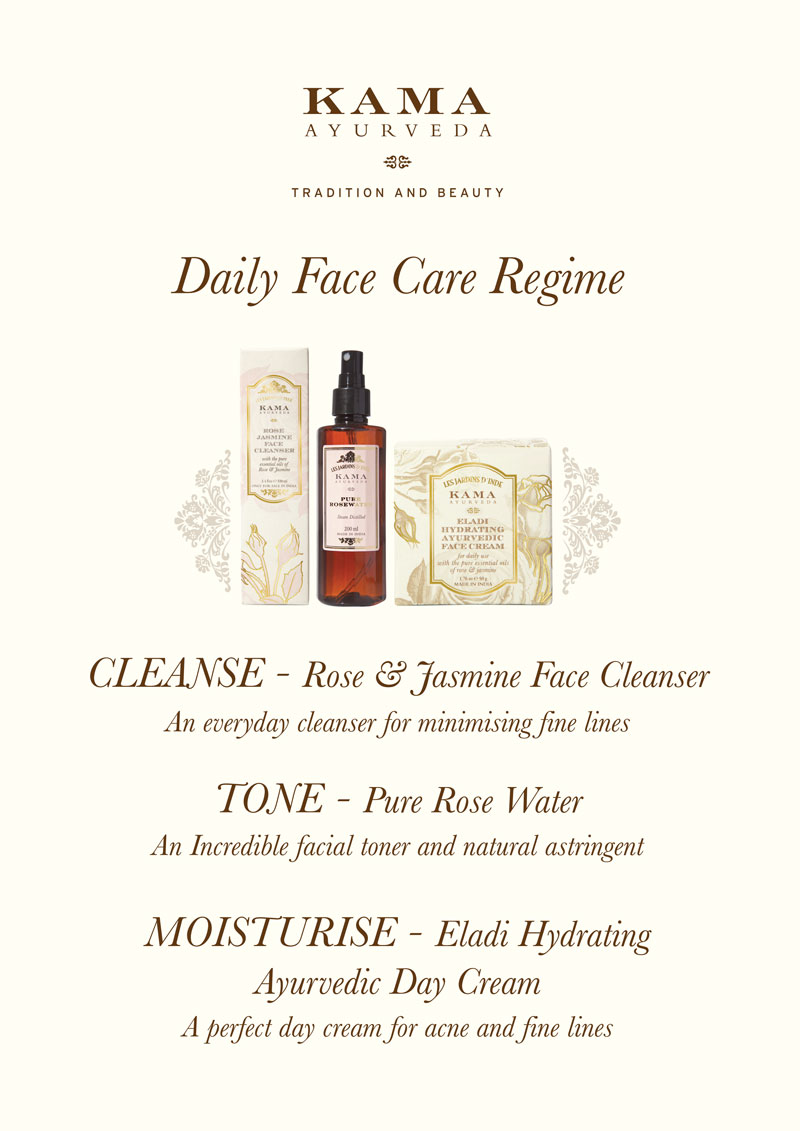 Daily Face Care Regime