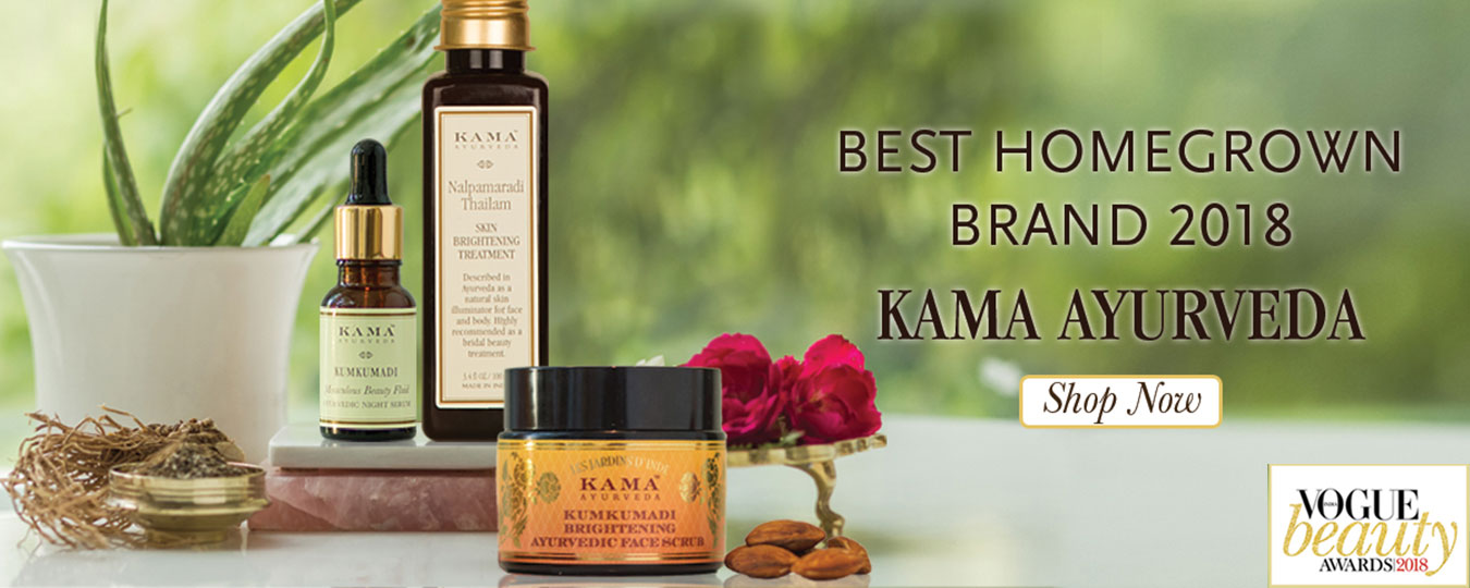 Kama Ayurveda Best Homegrown Brand 2018