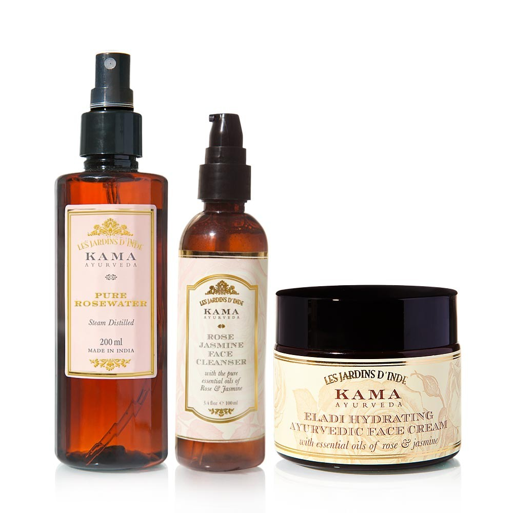 Kama Ayurveda Daily Face Care Regime